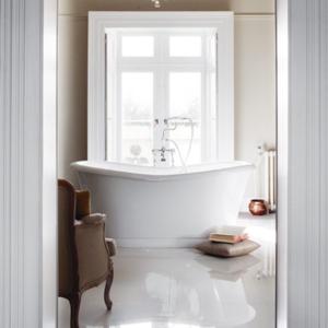 Burlington vinklad duschblandare för badkar