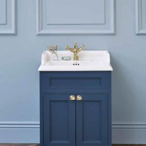 Burlington fristående tvättställsskåp med dörrar 65 cm
